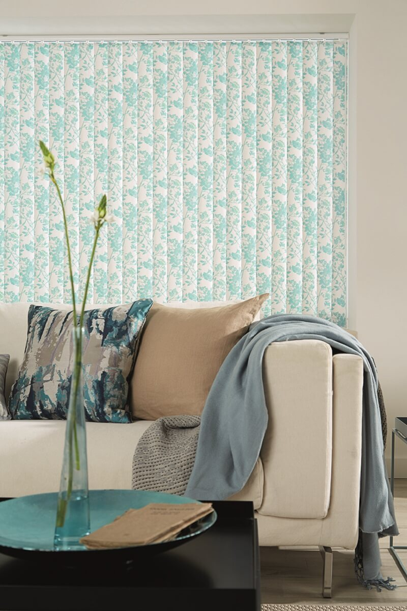 LL_2019_Vertical Blinds_Blossom_Jade-Drapes By Design