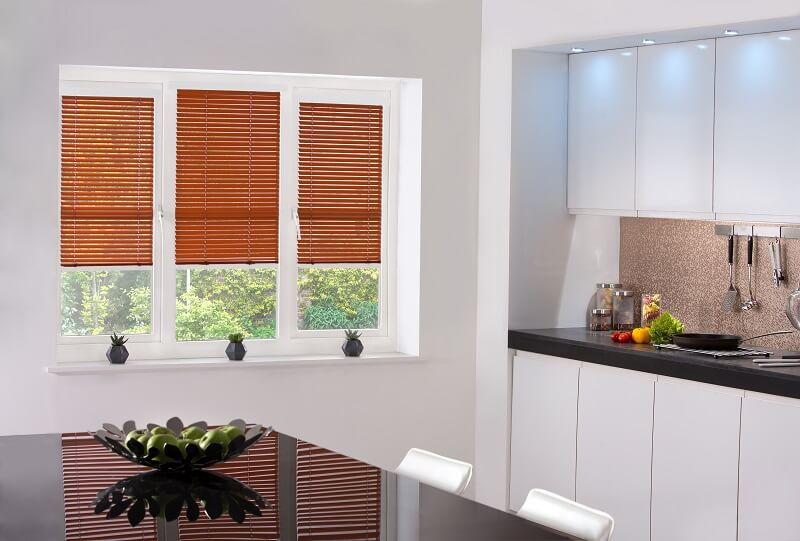 Venetian Blind Range-BurntOrange-Drapes By Design