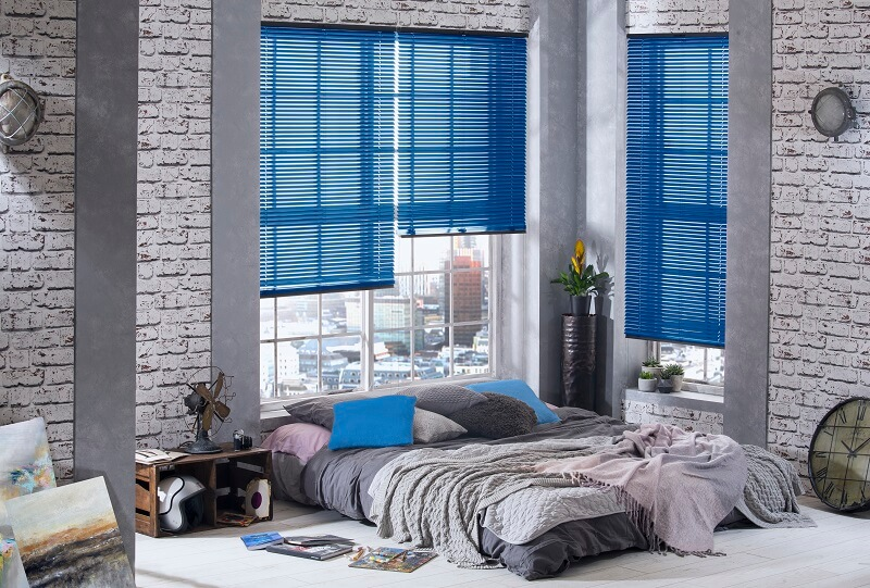 Venetian Blind Range-OxfordBlue-Drapes By Design