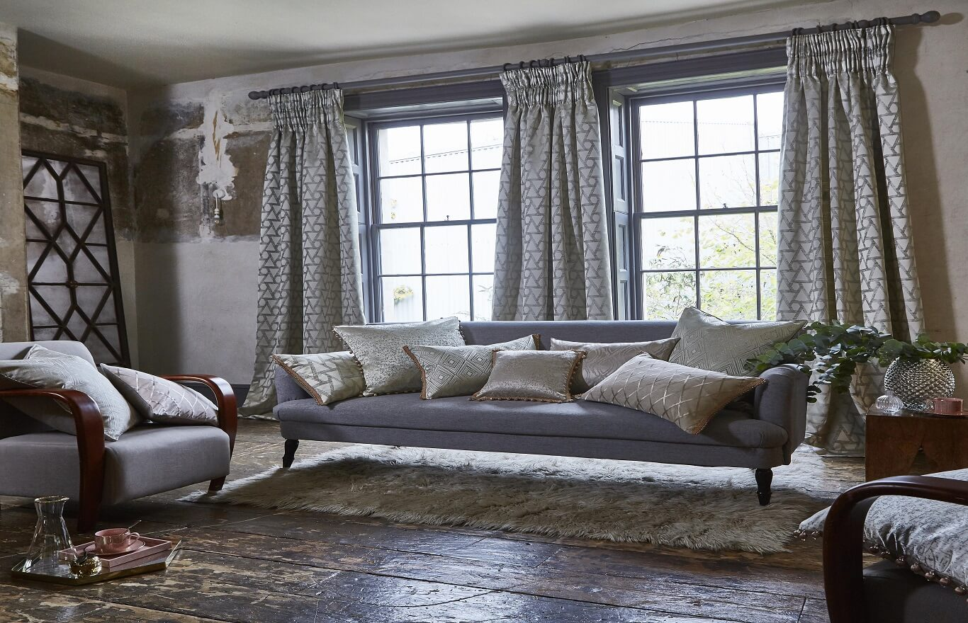 Bespoke Handmade To Measure Curtains-HALO-Drapes By Design
