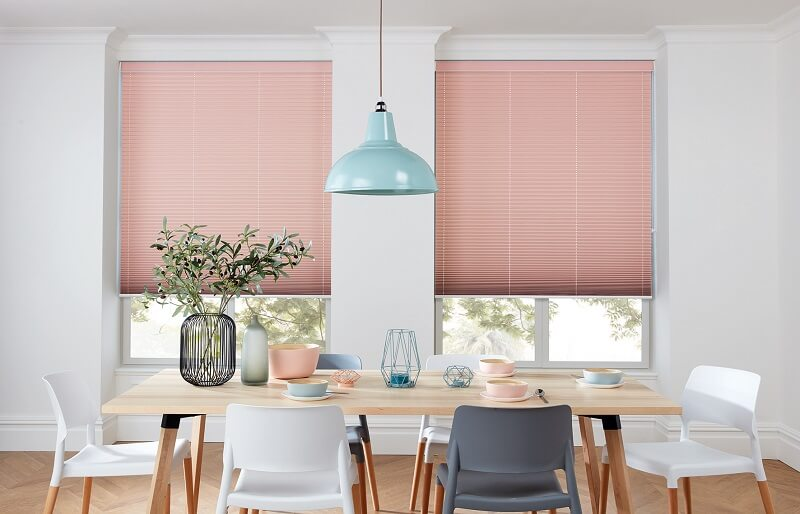 Bespoke Pleated Blinds-Pleated_Festival_ESP_Blush-Drapes By Design