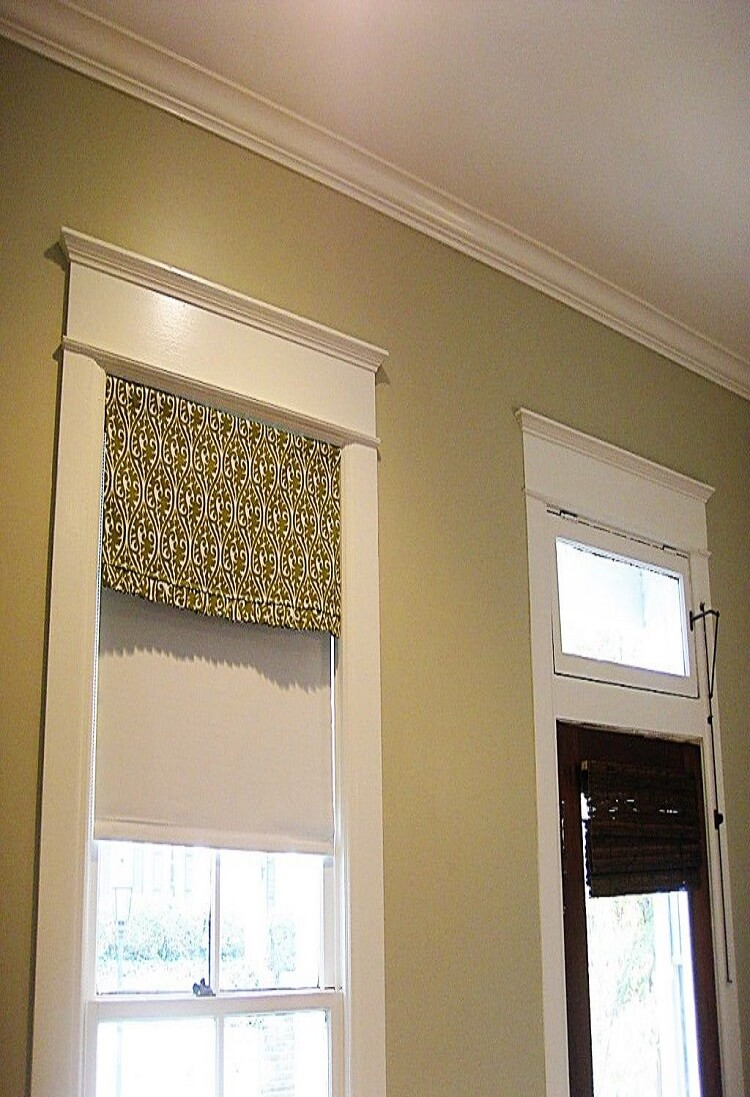 Curtain Pelmets Dartford-Simple Valance-Drapes By Design
