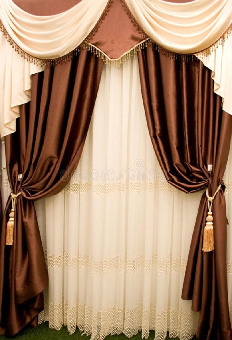 Curtain Pelmets Dartford-Swags & Tails-Drapes By Design